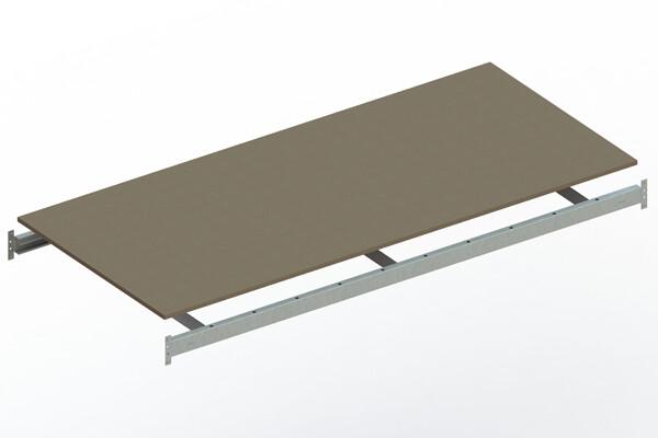 Extra niveau spaanplaat,  B2.200 x D1.050 mm, Verzinkt