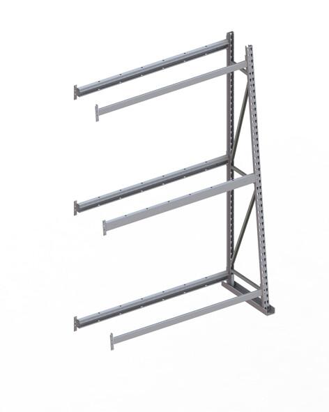 Profielstelling, Aanbouwmodule, B1.400 mm x D500 mm mm, RAL 7035