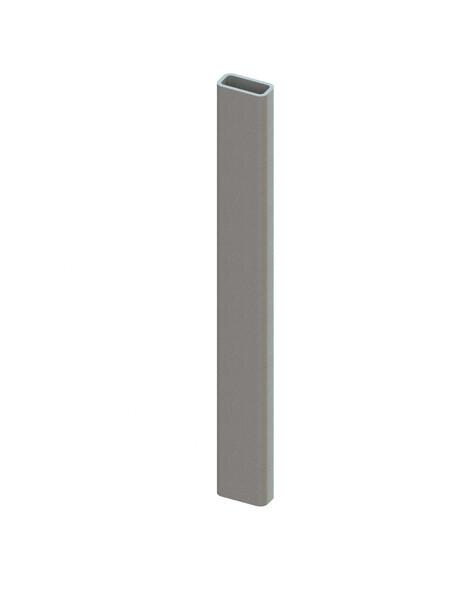 Afroldoorn voor draagarm, H170 mm, Verzinkt