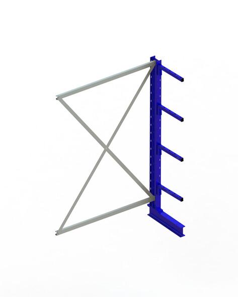 Draagarmstelling Light, Aanbouwmodule  H2.000 x B1.300 mm, RAL5010