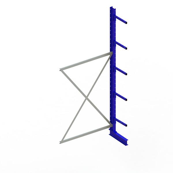Draagarmstelling Light, Aanbouwmodule  H3.000 x B1.300 mm, RAL5010