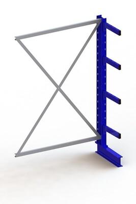 Draagarmstelling Medium, Aanbouwmodule  H2.000 x B1.300 mm, RAL5010