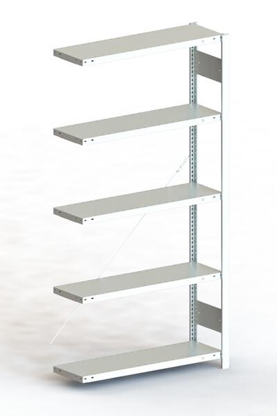 Inhaakstelling CLIP 100, Aanbouwmodule  H2.000 x B1.000 mm, Verzinkt