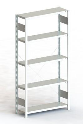 Inhaakstelling CLIP 100, Basismodule  H2.000 x B1.000 mm, Verzinkt