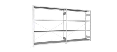 Inhaakstelling S3 CLIP 200, Aanbouwmodule  H2.000 x B1.700 mm, Verzinkt