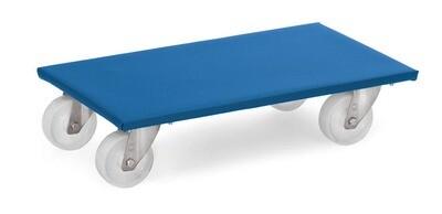 Meubelrollers, Antislip rubber laadvlak, polyamide wielen