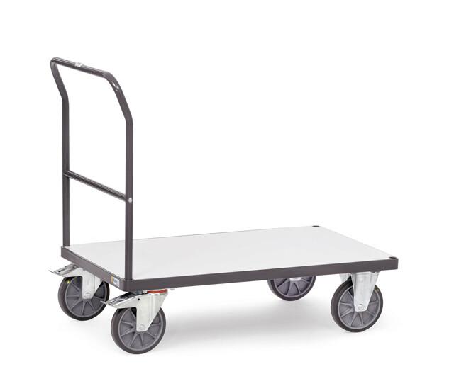 ESD-Duwbeugelwagen, 500 kg, RAL 7015