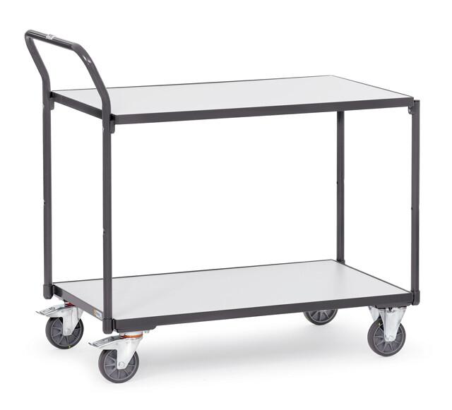 ESD-Tafelwagen, 2 etages, 300 kg, RAL 7015