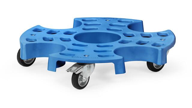 Bandenroller, SUV-banden, 180 kg, blauw