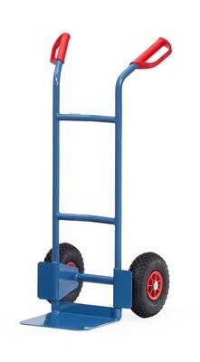 Steekwagen, Staal, Gebogen beugels, 200 kg, RAL 5007