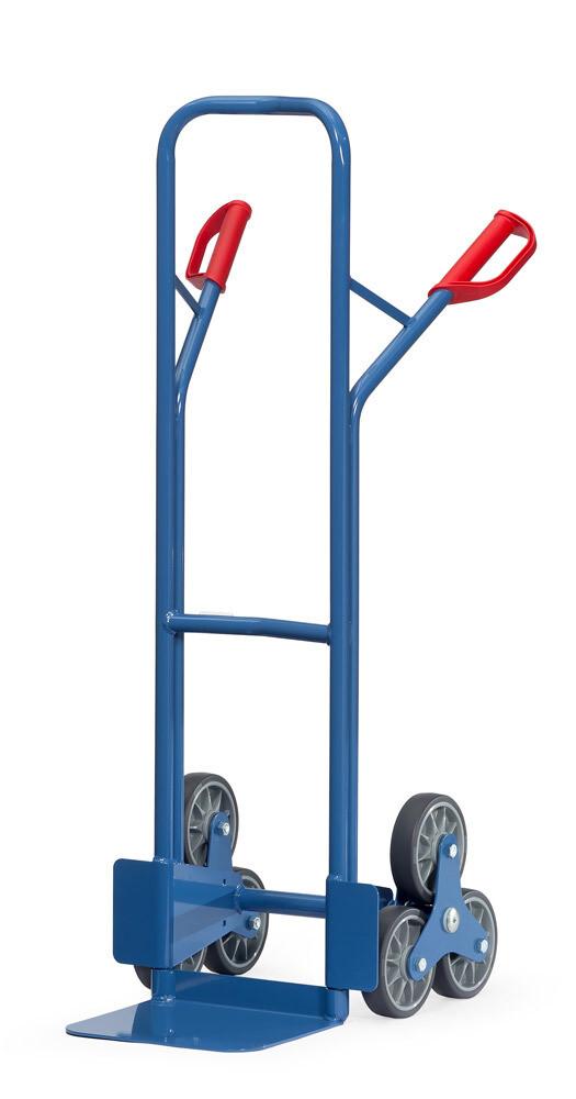 Trappensteekwagen, Staal, 200 kg, RAL 5007
