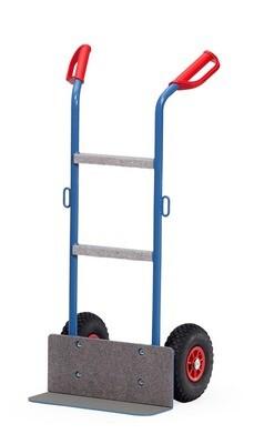 Apparaten steekwagen, Staal,  250 kg, RAL 5007