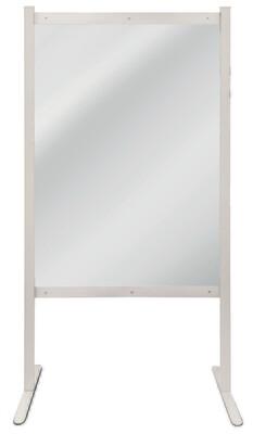 Hygiënische scheidingswand, Aanbouwmodule, H2.000 x B1.000 mm