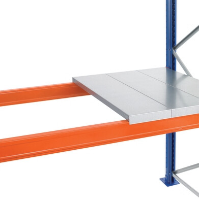 Staalpanelen, Opgelegd, B2.700 x D1.100 mm, Panelen 1,5 mm