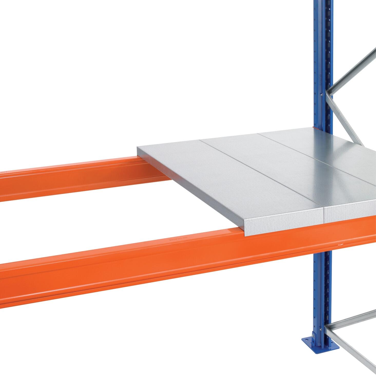 Staalpanelen, Opgelegd, B2.700 x D1.100 mm, Panelen 1,25 mm