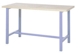 Standaard werkbank, H840 x D700 mm, blauw
