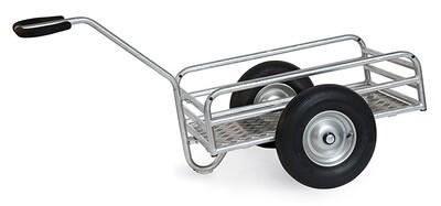Fietskar, 845x545 mm, 400 kg, Aluminium, Luchtbanden