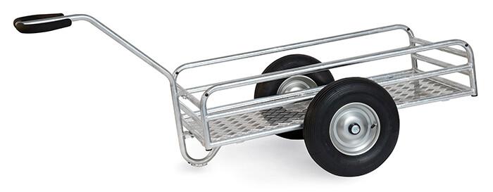 Fietskar, 1.144x545 mm, 400 kg, Aluminium, Luchtbanden