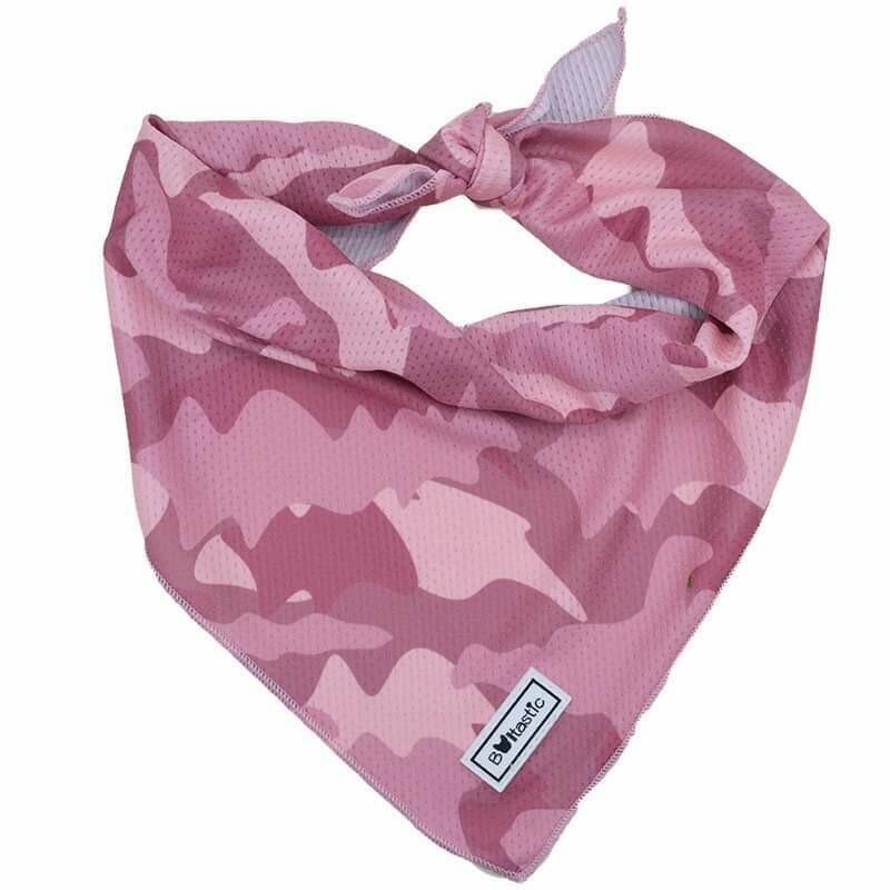 Bandana Camu pink