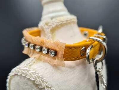 Seduction collar orange 25cm