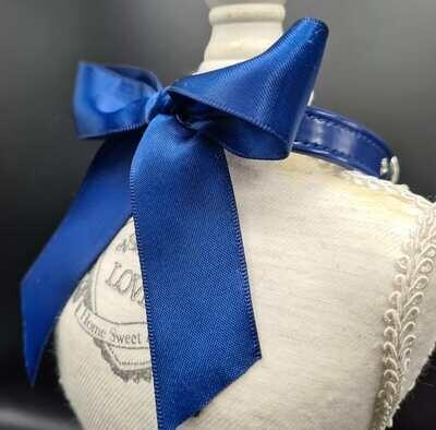 Tina collar dark blue 25cm