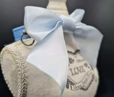 Tina collar light blue 25cm