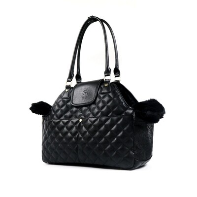 Paris Quilted Pet Carrier