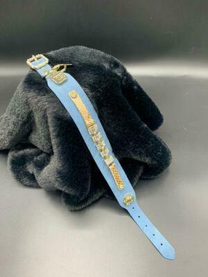 Petit Noire soft blauw Nubuck - Stock