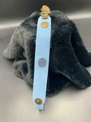 Simple Stones soft blauw Nubuck - Stock