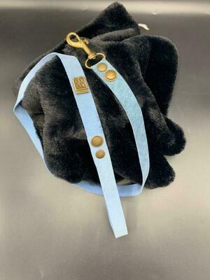 Soft Blue Leiband Nubuck - Stock