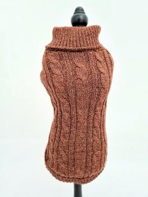 Waterloo Sweater Rust - Stock