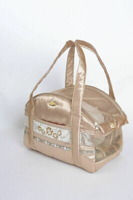 Queens travel bag Gold - Stock