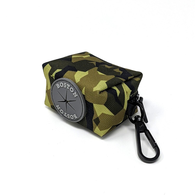 Poepzakhouder Groen Camouflage - Stock
