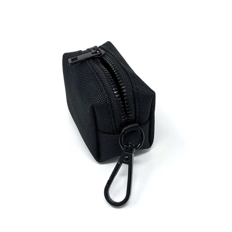 Schwarze Kotbeutelspender - Stock