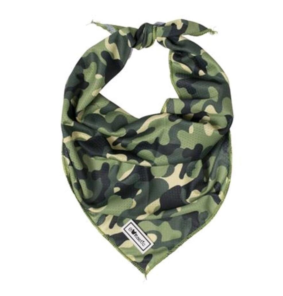 Bandana Green camouflage