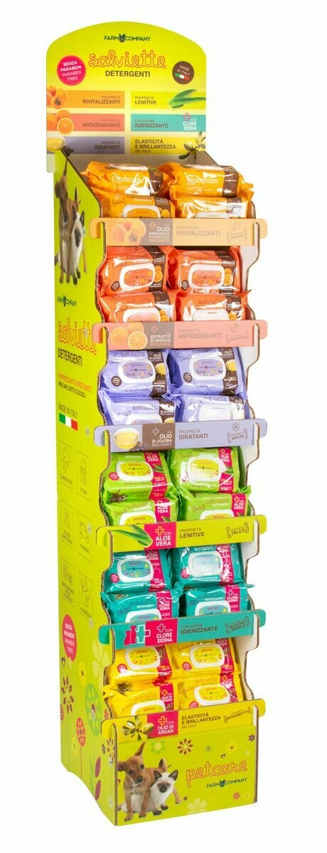 Pet cleansing wipes 6x30 + free expo and a free expo pocket cleansing wipes