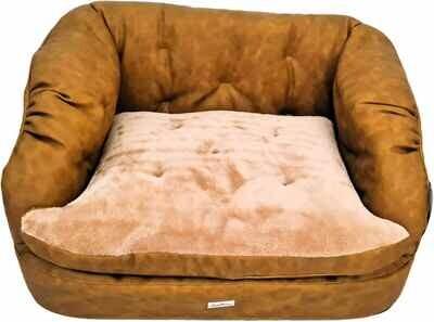 Francine camel Soft Cushion - Stock
