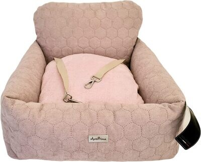 Aurora Pink Quilted Size 2 autostoel