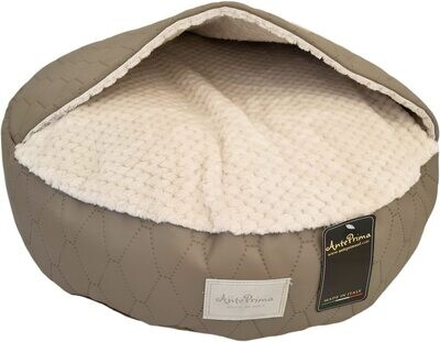 Mellow big quilted taupe - Stock