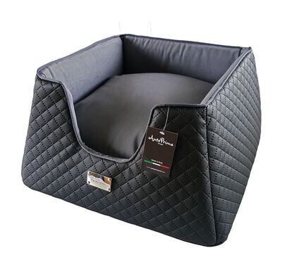 Tronky Quilted Schwarz - Stock