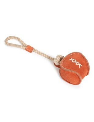 Suede Leather Ball Natural Toys pack of 6 - Stock