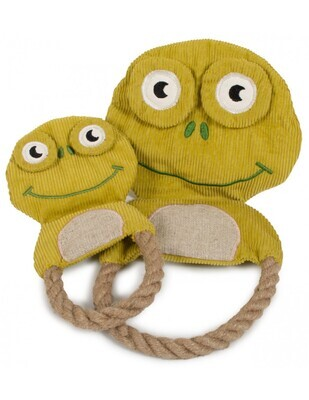 Frog Plush Natural Toys pack of 6 - Stock