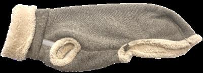 Pull Teddy voor windhonden - Grijs/beige - Stock