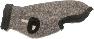 Pull Teddy voor windhonden - Grijs/Zwart - Stock
