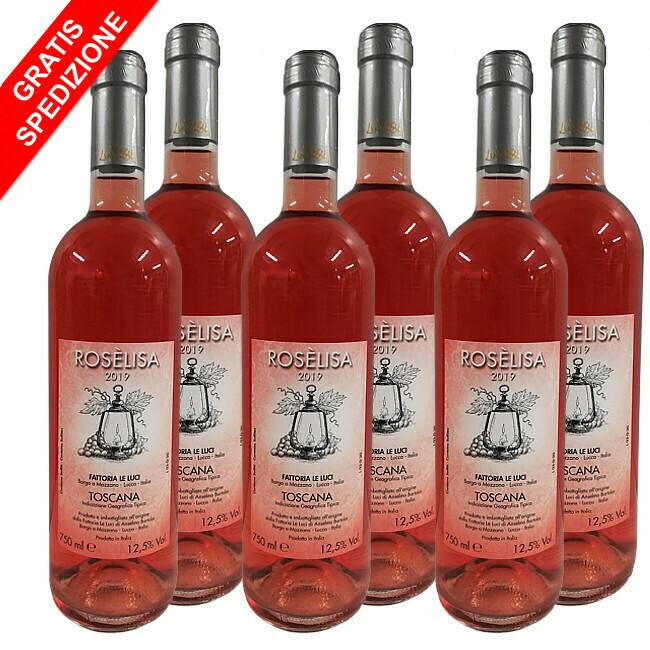 Offerta Rosèlisa - Conf. 6 bottiglie 0,75L
