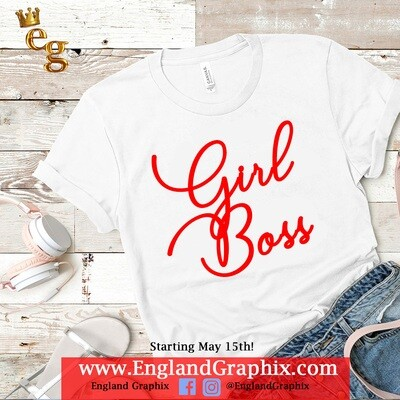 Girl Boss Stretch Tee