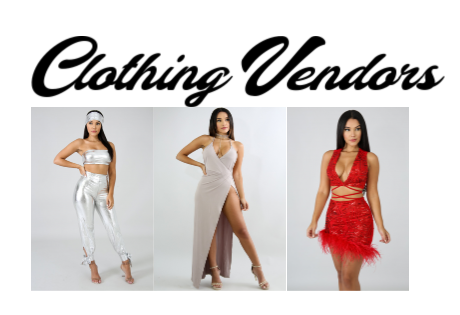 Clothing Vendor's List