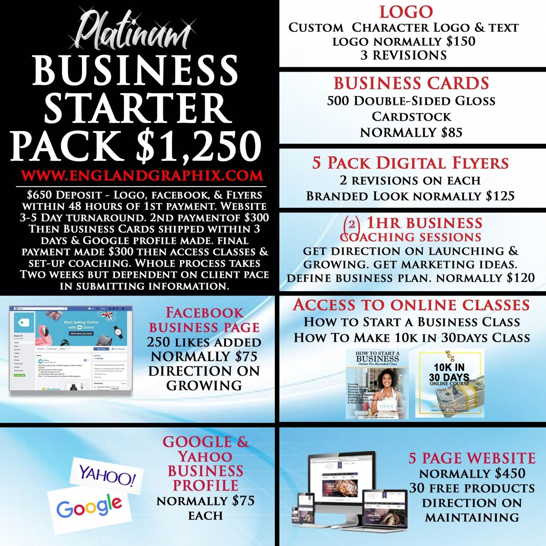 Platinum Business Starter Package