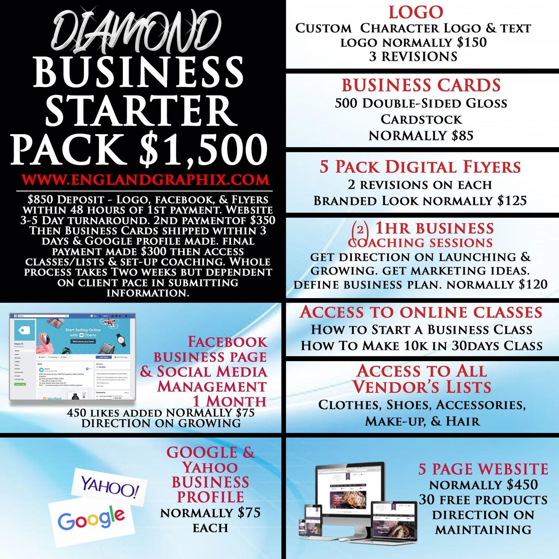 DIAMOND Business Starter Package