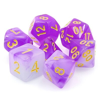 7 Die Set: Alabaster Purple